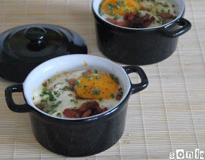 Cazuelita de patatas, bacon y huevo | L'Exquisit