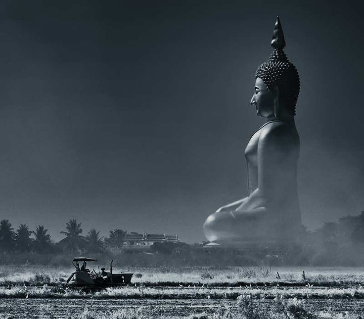 Buddha Statue Thailand - Largest in the world. I would definitely love to see this in person.
