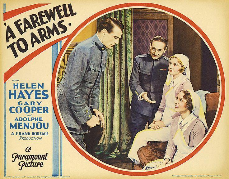 Resultado de imagen de A FAREWELL TO ARMS 1932