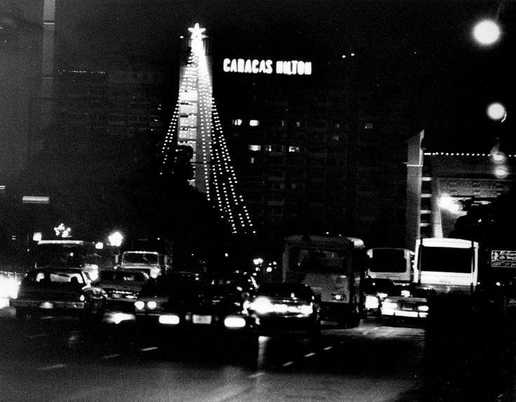 La Ciudad se viste de Luz. Hotel Caracas Hilton. Caracas, 12 de diciembre de 1992 (ORLANDO UGUETO / EL NACIONAL)