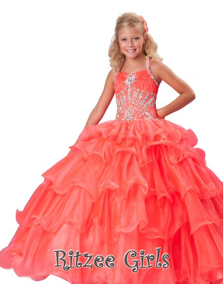 Ritzee Girls | Style 6238 like this dress for a 10 yr. old please give comments