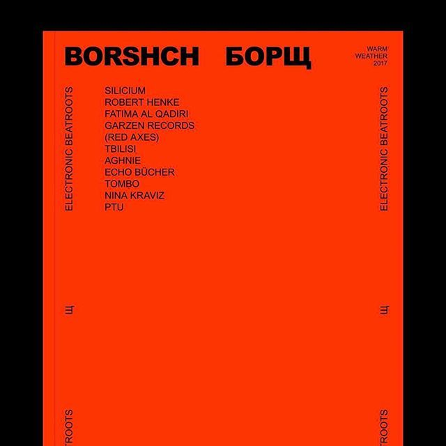 🔥🔥BORSHCH MAGAZINE 🔥🔥  New project with @tiagobiscaia  and @mariana_berezovskiiiii soon 💥 Follow 👉🏻@borshchmagazin 👈🏻 for info and news.  #magazine #publication #editorial #design #graphic #electronicmusic #music #electronicbeatroots