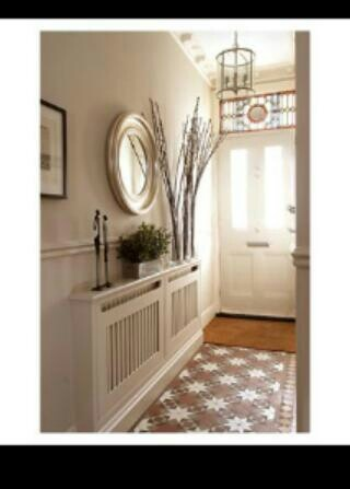 Hallway radiator cover