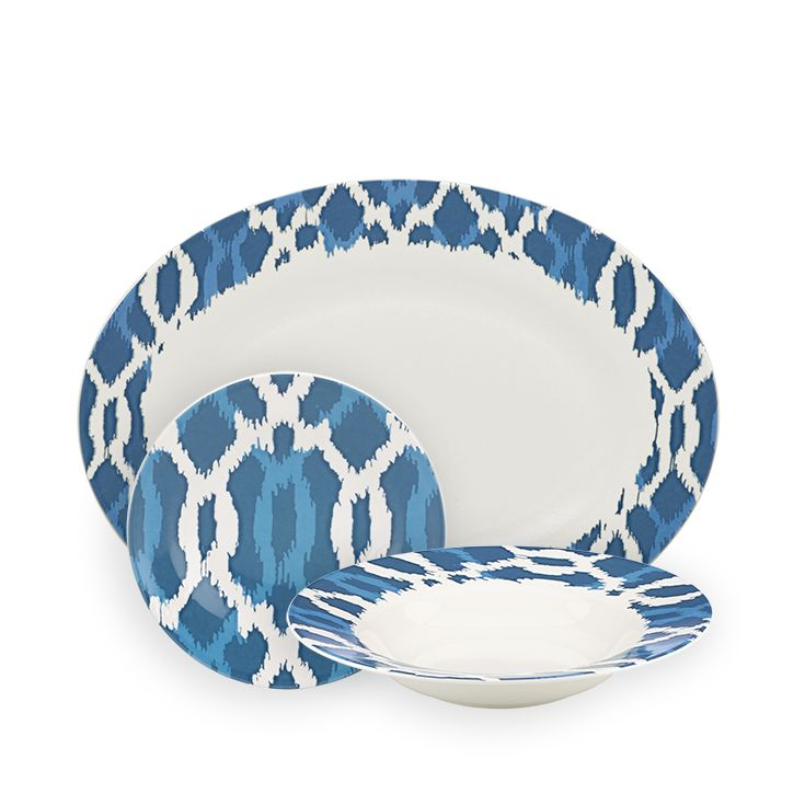 Our exclusive closeout of plates bowls and serving trays from the #AERIN Deep Sea  sc 1 st  Pinterest & 26 best AERIN Closeout images on Pinterest | Countertop Table and ...