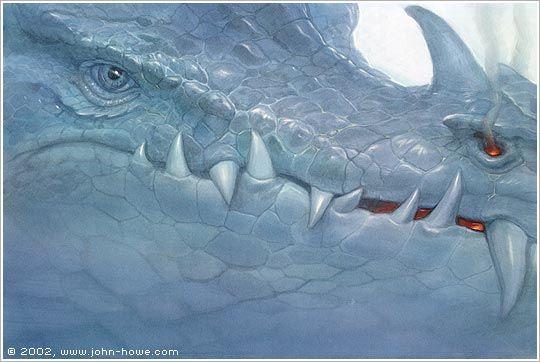 Eye of the Blue Dragon by John Howe