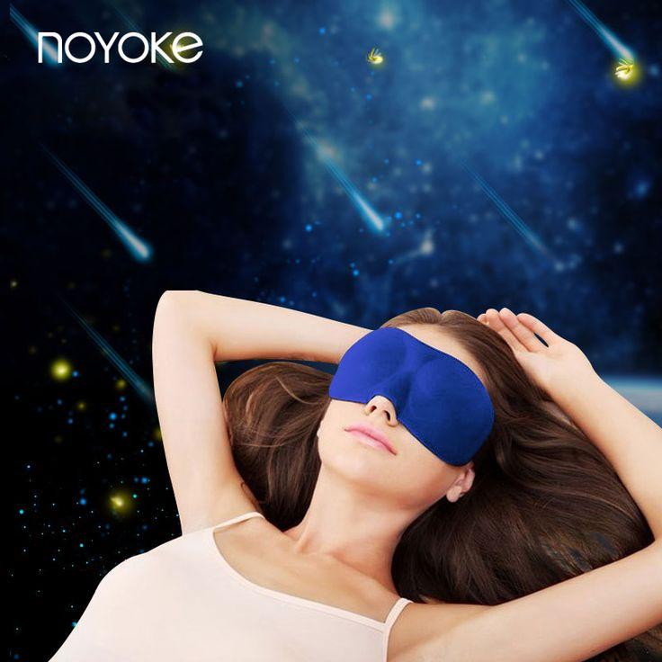 Noyoke 3d traagschuim oog schaduw mannen en vrouwen slapen dutje ademend eye shade oogmasker beddengoed accessoires