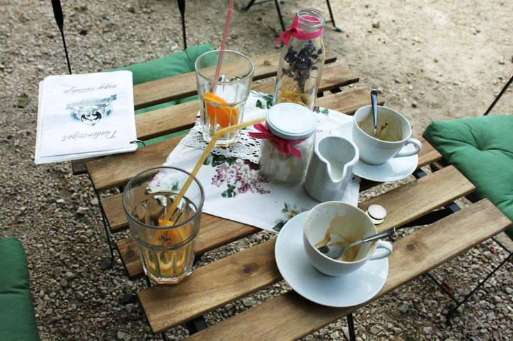 sodas and coffee in Tihany, Hungary | http://www.themiddlerack.com/p=930