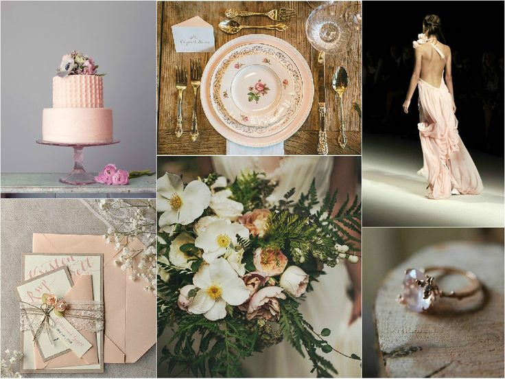 Stacey's Vintage Wedding Inspiration board shows off an elegant vintage look which the NZAWEP Team love!