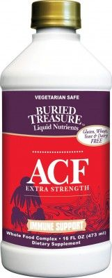 Extra Strength ACF for the stubborn cold and flu season!   Buried Treasure Life Line Foods
