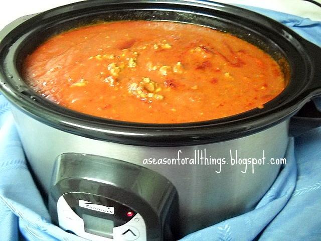 Spaghetti Sauce... freezer friendly!