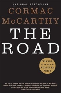 I love Cormac McCarthy's books.  This was great....pretty scary...scary and disturbing enough that I knew I never want to see the movie.