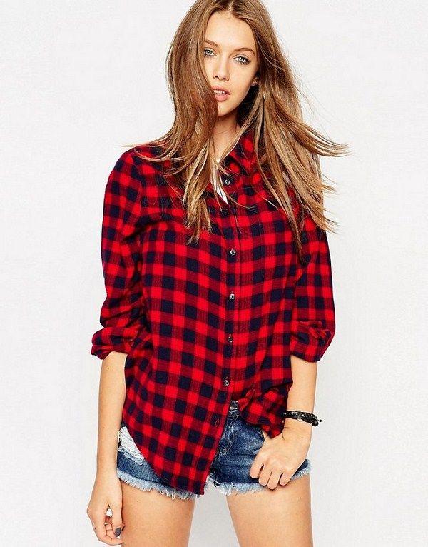 75dc3cc78a19 Стильные женские рубашки 2019-2020 года: фото | Рукоделие | Рубашка ...