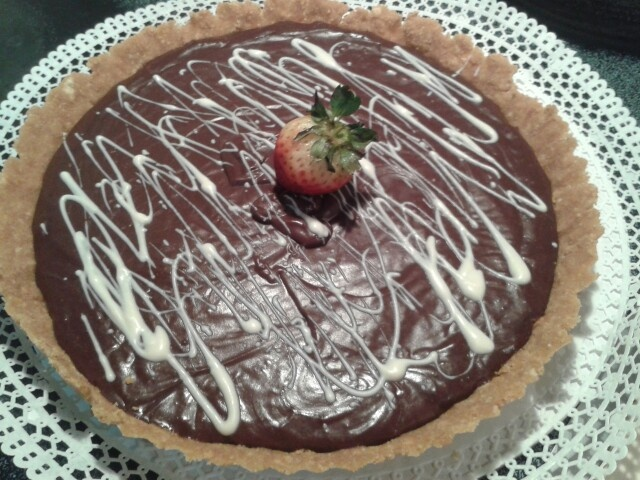 Pie de chocolate....
