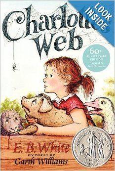 Charlotte's Web: E. B. White, Kate DiCamillo, Garth Williams: 9780739477076: Amazon.com: Books