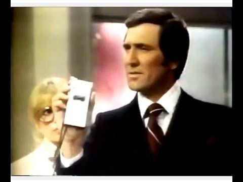 """Sony Electronics 'Secret Agent' Commercial (1977) """"It's a Sony."""" Sony electronics commercial featuring a James Bond-type secret agent. Spot aired in October 1977. *Visit BionicDisco.com for 1970s pop culture fun.* Fair Use. No copyright infringement is intended. Posted for museum purposes only."""