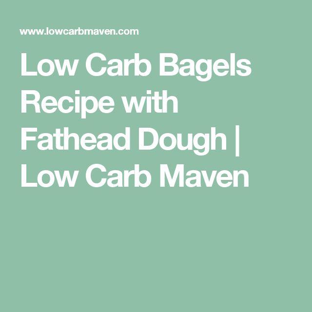 Low Carb Bagels Recipe with Fathead Dough | Low Carb Maven