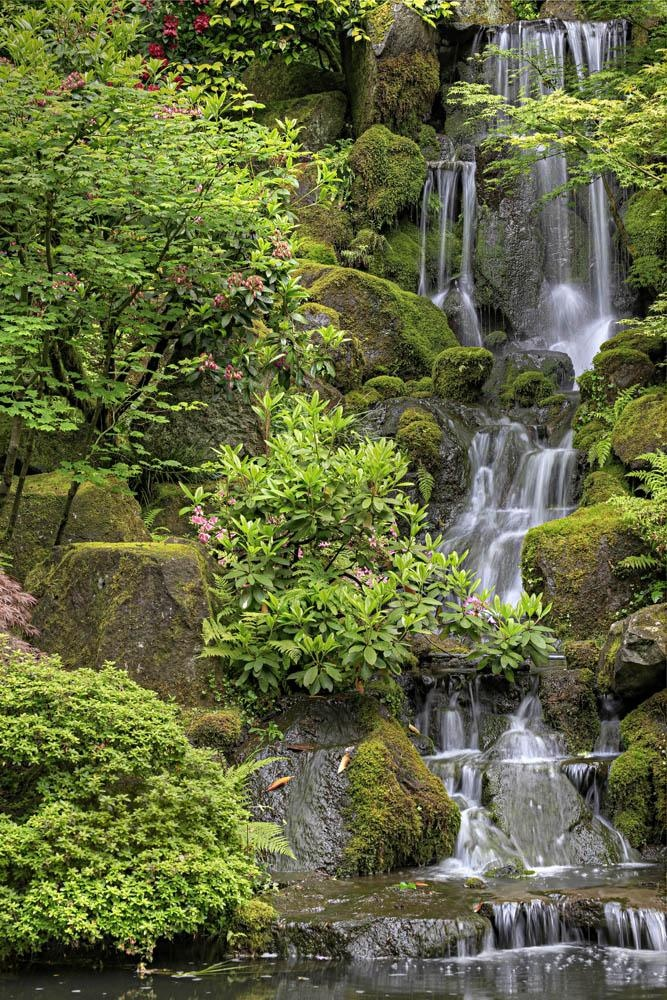 508 best japanese gardens images on pinterest japanese for Zen garden waterfall