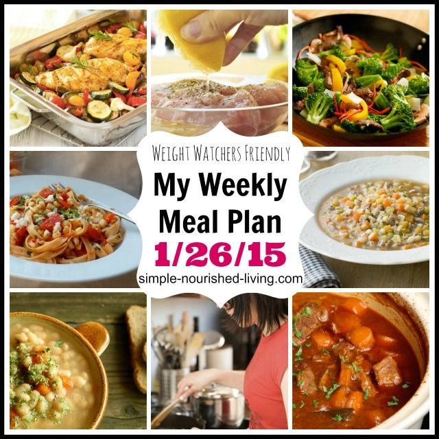 Here's another weight watchers meal plan ideas with recipes, nutritional information and points plus, which helps with weight loss