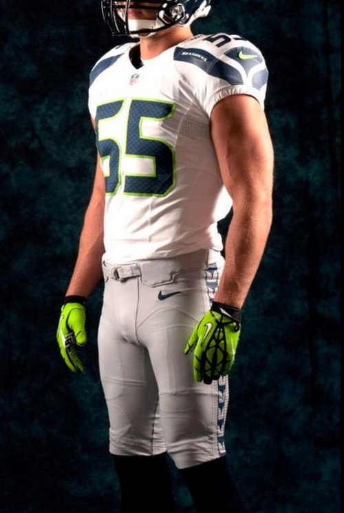 New Seahawks Uniforms...I wish they would bring back the originals..but this is better than the previous ones.