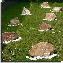 Gebetsgarten in Gottstreu