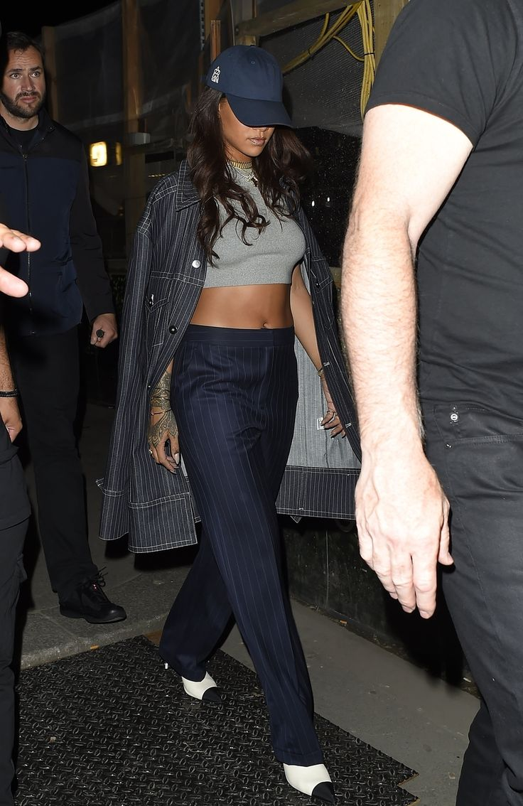 6-24-16 - Rihanna at Tape nightclub in London
