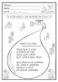 Resultado de imagem para atividades sobre o dia da agua para educação infantil