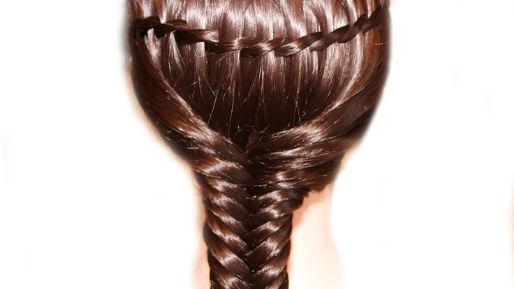 Как заплести косу водопад и рыбий хвост❤Две техники плетения кос ❤Легкие...