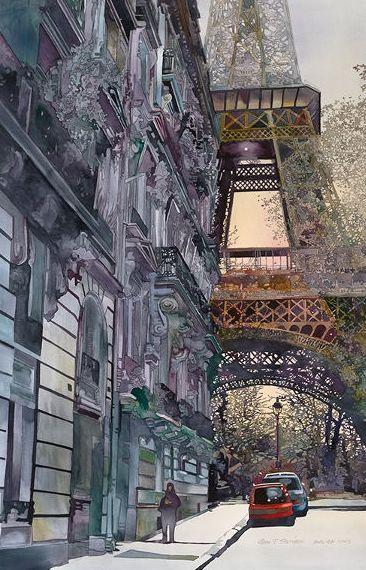 Paris by John Salminen