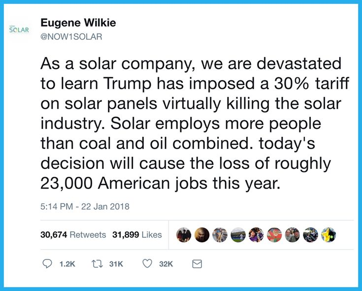 This political stunt was done solely to kill off renewable energy while trying desperately to salvage the dead coal industry.