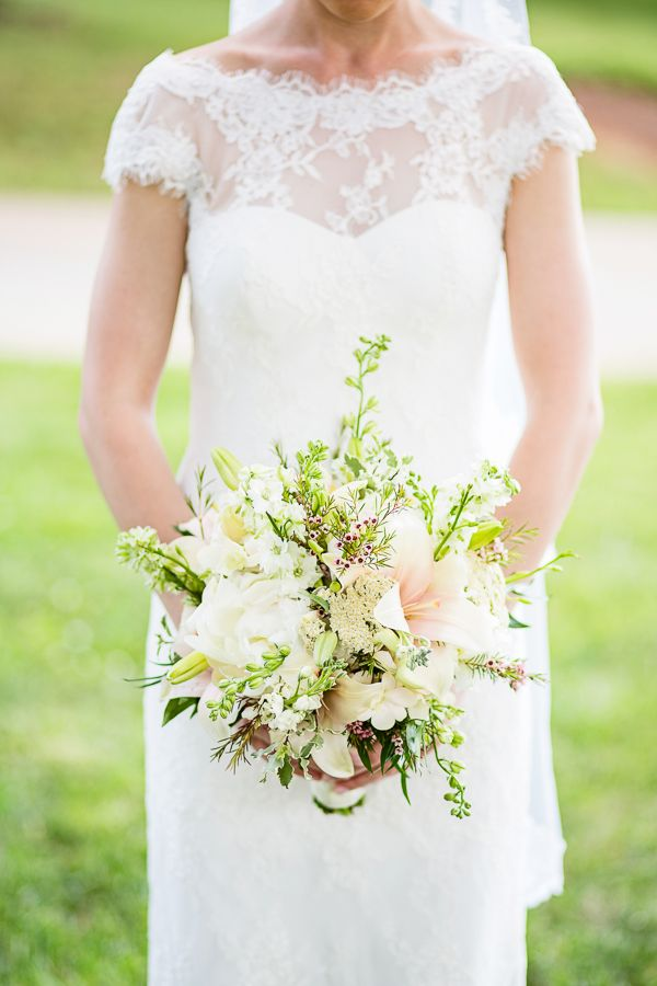 Saxapahaw River Ballroom Wedding By Robyn Van Dyke Lily Bouquet Bouquets And Weddings