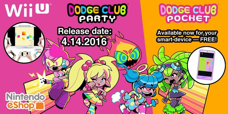 Dodge Club Party To Make Its Mark on Wii U in North America This Week - Nintendo Life