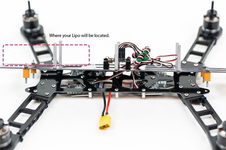 Qav400 Getfpv Com Fpv Quadcopter Fpvmanuals Com  With