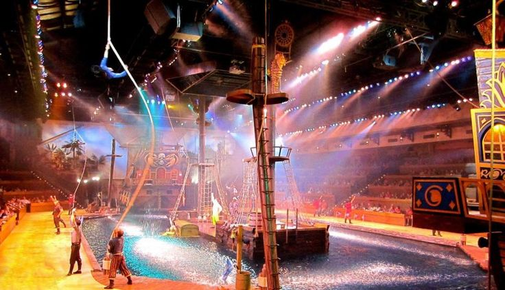 Browse the complete Show Schedule for Pirates Voyage Dinner & Show in Myrtle Beach, SC and make plans today for your summer adventure!