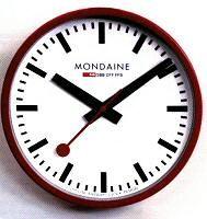 Mondaine swiss railway clock