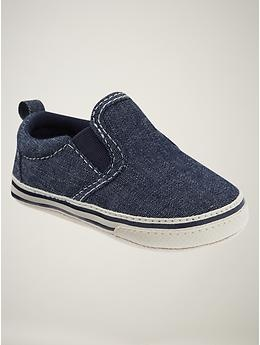 Denim Slip-On Sneakers at Baby Gap $17