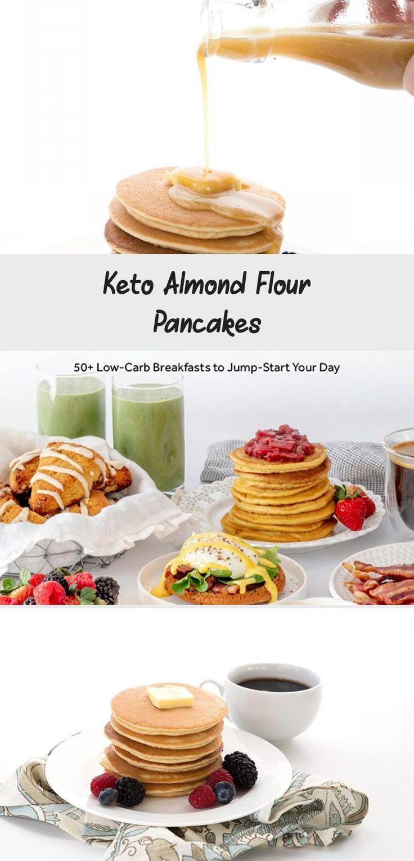 Keto Almond Flour Pancakes Cake in 2020 Almond flour