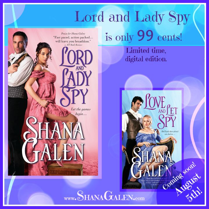 Last chance to get Lord and Lady Spy for 99 cents