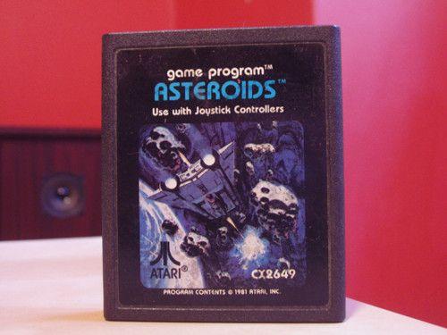 Asteroids for the Atari 2600 #80s   Source: Reddit