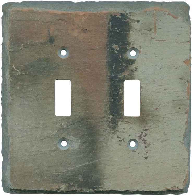 decorative slate light switch plates outlet covers in stock shop our vast selection of stylish slate switch covers
