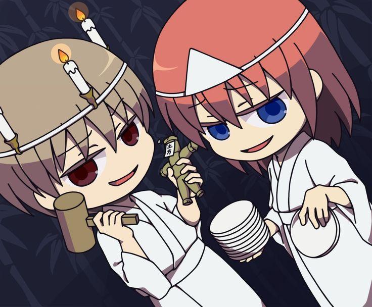 Gintama Kagura And Sougo