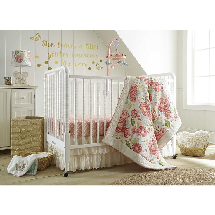 Levtex Baby Charlotte 5 Piece Crib Bedding Set Dust