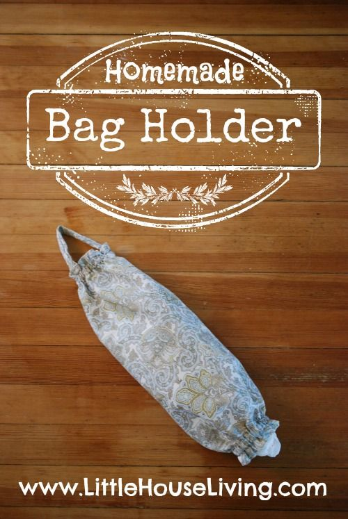 Easy Bag Holder Sewing Pattern . Easy project that you can make in an afternoon to hold all of your plastic bags!