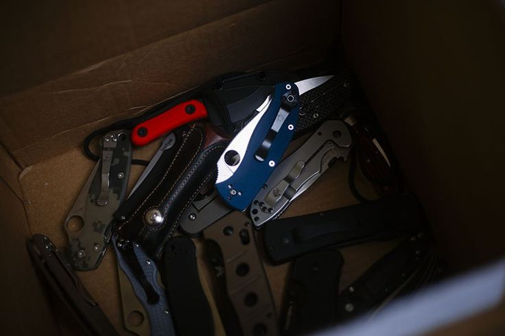 Knife Drop: Best EDC Knives Image Outtakes | More Than Just Surviving | Survival Blog | Preppers & Survivalists | Gear & Knives