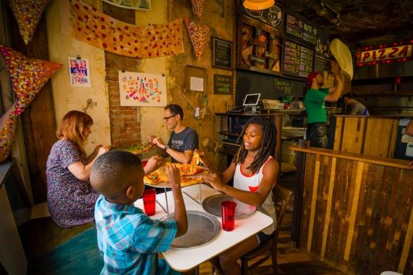 Widely known as the world's first pizza museum, this Fishtown destination features plenty of pizza-themed memorabilia and serves up tasty brick-oven pies