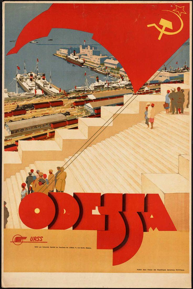 Vintage Travel Posters: Odessa