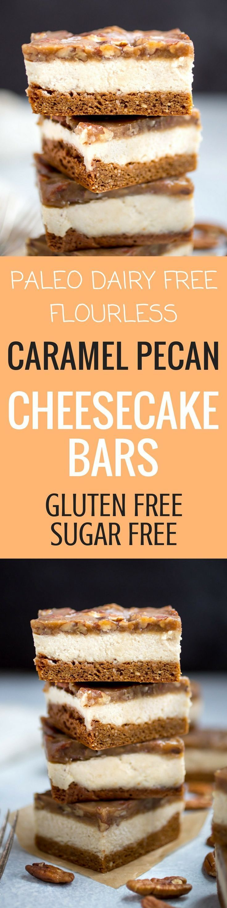 1377 best paleo treats dessert recipes images on pinterest best dairy free paleo caramel pecan cheesecake bars easy healthy paleo treat gluten free forumfinder Image collections