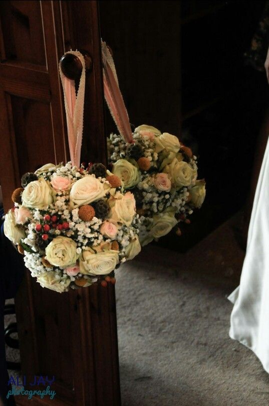 Pomander bridal bouquet