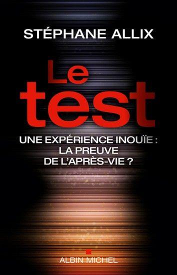 Couverture de l'ouvrage : Le Test de Stéphane Allix