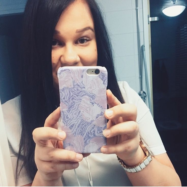"""Shell'Oh! cases making mirrorselfies so much cooles since 2015 //""""Jellyfish Mess"""" iPhone case by Anna Salmi for Shell'Oh!"""