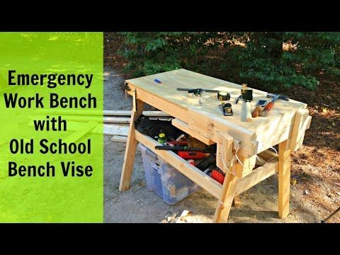 Building A Workbench With A Simple Vise – WooDesigner